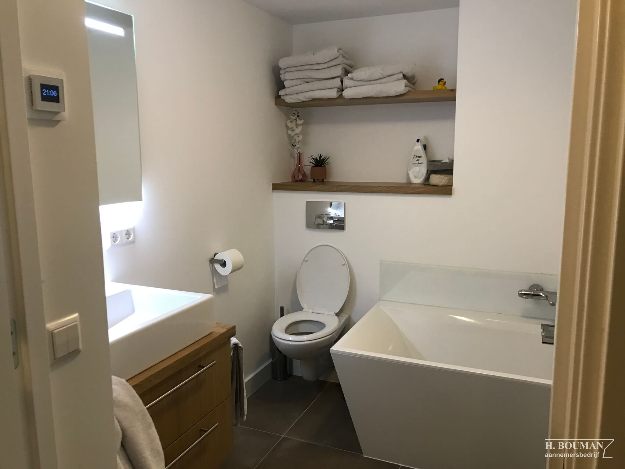 Badkamer Op Maat Aannemersbedrijf H Bouman